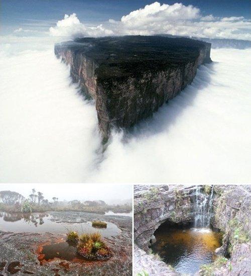 브라질·베네수엘라 경계에 위치한 로라이마산 (사진=온라인 커뮤니티)