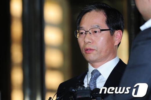[사진]각오 밝히는 김기용 경찰청장 후보자