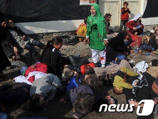 2012년 퓰리처상 사건보도사진 부문 수상작  AFP=News1