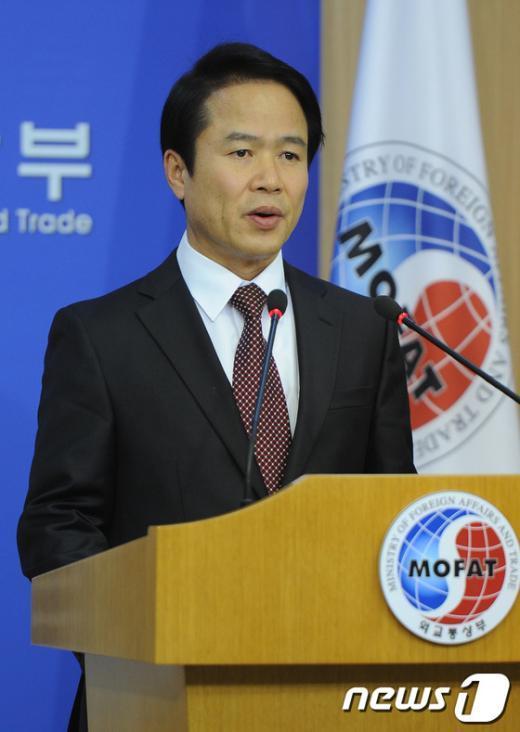 조병제 외교통상부 대변인. News1 송원영 기자