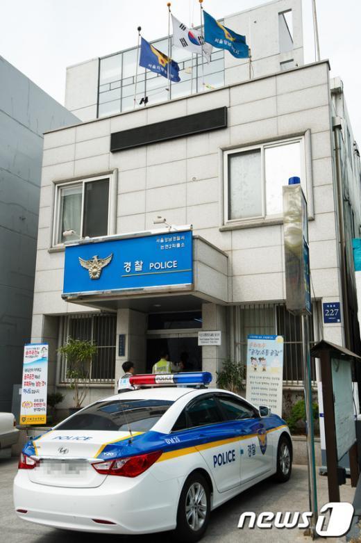 [사진]룸살롱 상납 받아온 경찰 논란 논현지구대