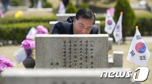 [사진]슬픔에 가득찬 유가족