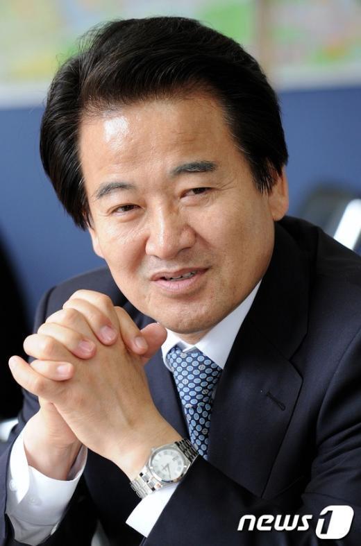 정동영 민주통합당 상임고문 2012.4.12/뉴스1  News1 오대일 기자