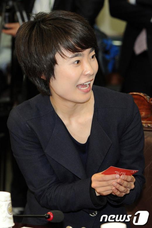 """[사진]손수조 """"전당대회 준비위원 됐어요"""""""