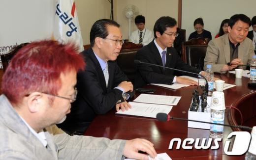 [사진]새누리당 전당대회 준비위원회 1차회의