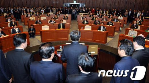 [사진]민주통합당 19대 국회의원 당선자 대회