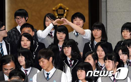 [사진]대법원 방문한 다문화가정 학생들