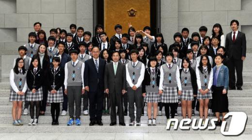 [사진]대법원, 서울다솜학교 다문화가정 청소년 초청