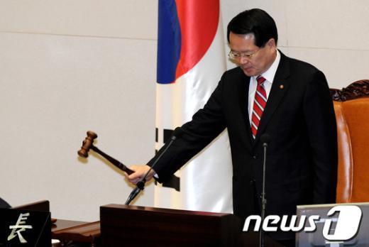 정의화 국회의장 권한대행  News1 박정호 기자