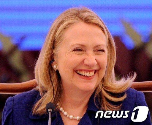 힐러리 클린턴 미국 국무장관  AFP=News1
