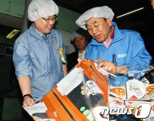[사진]민생탐방하는 이재오 의원