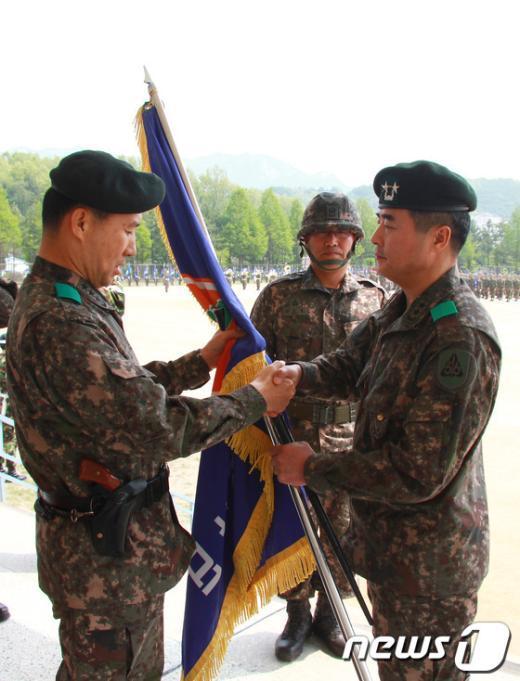 [사진]육군56보병사단장 취임식