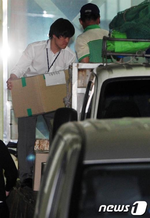 [사진]대검, 솔로몬 저축은행 압수수색