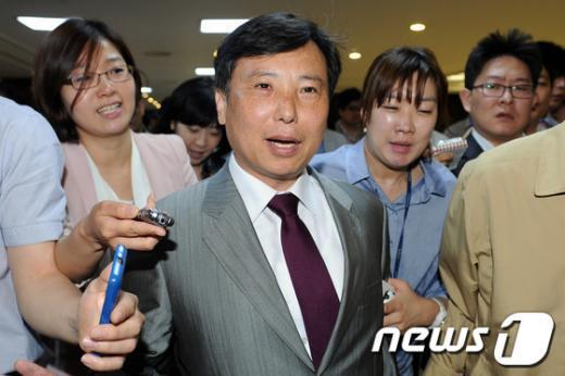 통합진보당 조준호 공동대표, 2012.5.2/뉴스1  News1 이광호 기자