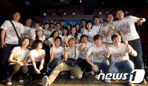[사진]'파업' MBC 아나운서, 일일주점 운영