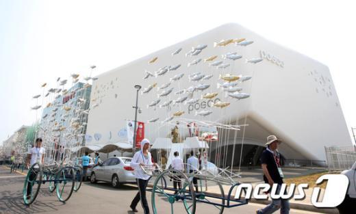[사진]개막 준비 한창인 여수박람회