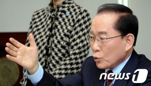 이회창 자유선진당 전 대표.  News1 박정호 기자