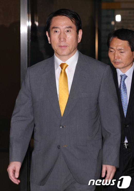 [사진]지검 나서는 조현오 전 경찰청장