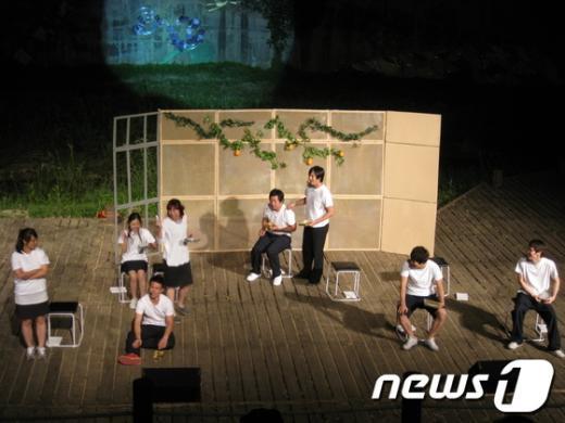 양평군이 개최하고 있는 와글와글음악회. /사진제공=양평군  News1