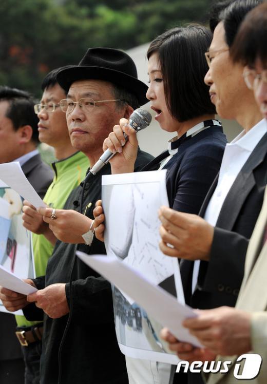 [사진]4.11 선관위 불법선거 대책위 제3차 기자회견