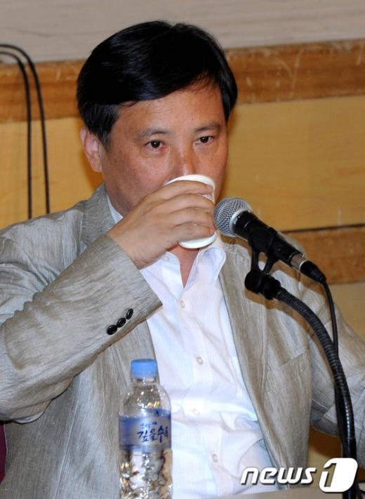 [사진]속타는 조준호 공동대표