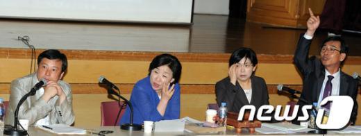 [사진]통합진보당 전국운영위원회