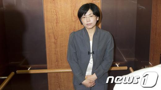 [사진]이정희, 통합진보당 대표직 사퇴
