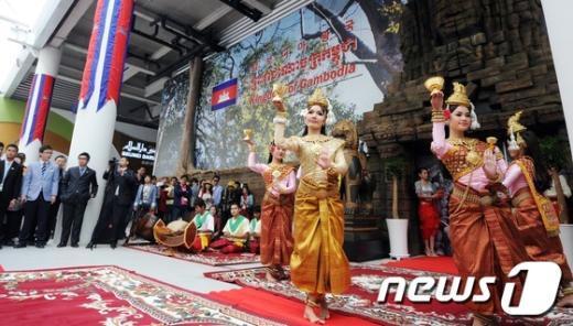 [사진]캄보디아 전통공연