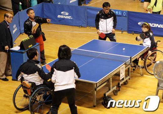 [사진]비장애인과 장애인이 함께!