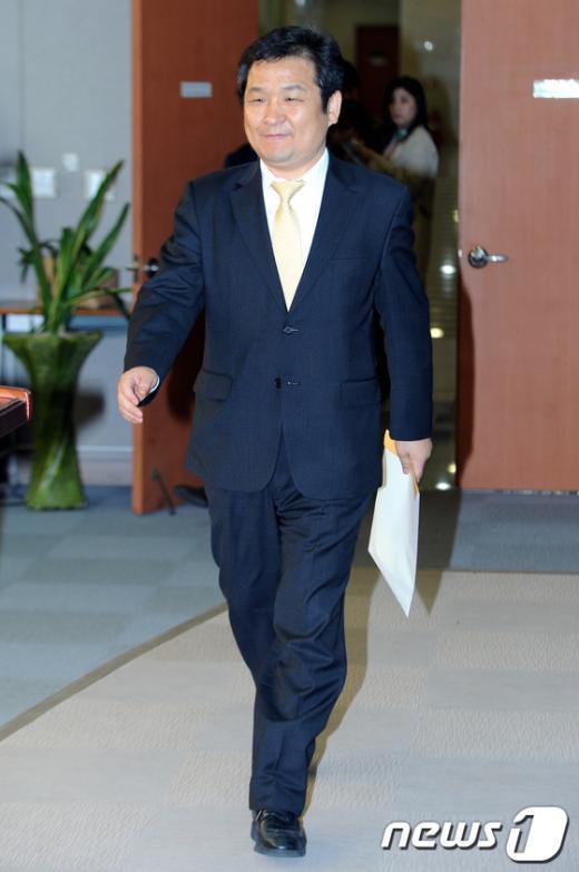 [사진]민주 문용식, 당 대표 출마