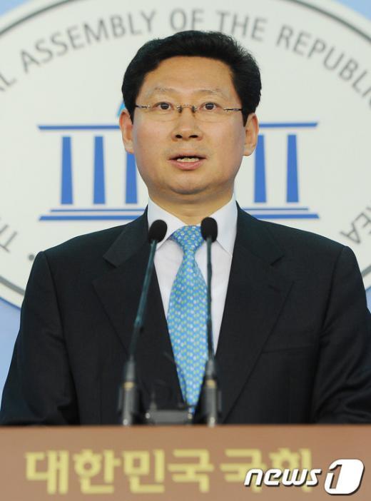 [자료]새누리당 이상일 대변인  News1 양동욱 기자