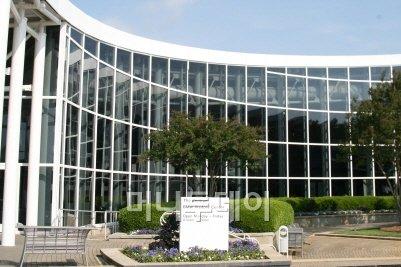 ▲미국 사우스 캐롤라이나주 스파르탄버그 BMW 공장 입구의 방문객 센터