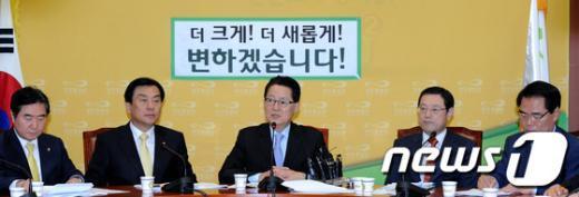 [사진]민주통합당 원내대책회의