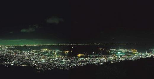 일본 3대 야경으로 꼽히는 고베야경(사진제공=비코티에스)