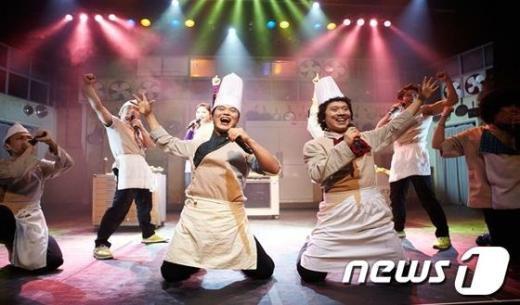 대한민국 최고의 넌버블 퍼포먼스 '비밥' 공연 모습  News1