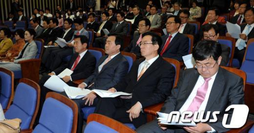 [사진]민주통합당 의원총회