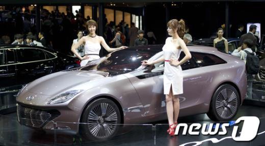 [사진]현대차, 국내최초 '아이오닉' 공개