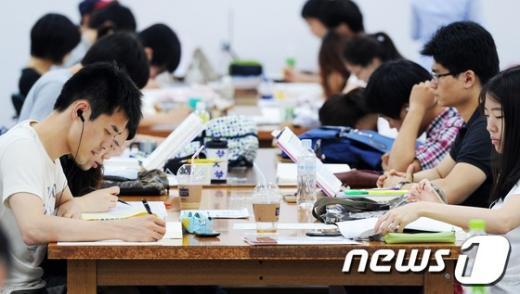 [사진]공부 '삼매경'