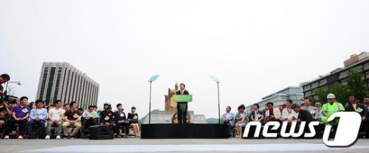 [사진]손학규 대선 출마선언