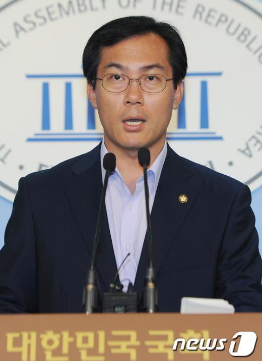 김영우 새누리당 대변인.  News1 양동욱 기자
