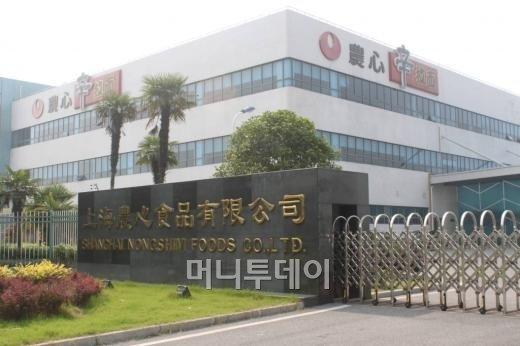 농심 상하이 진산공장 전경