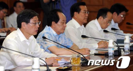 [사진]김 총리, 여수세계박람회 정부지원위원회의 주재