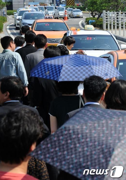 [사진]택시업계 전면파업, 'D-1'