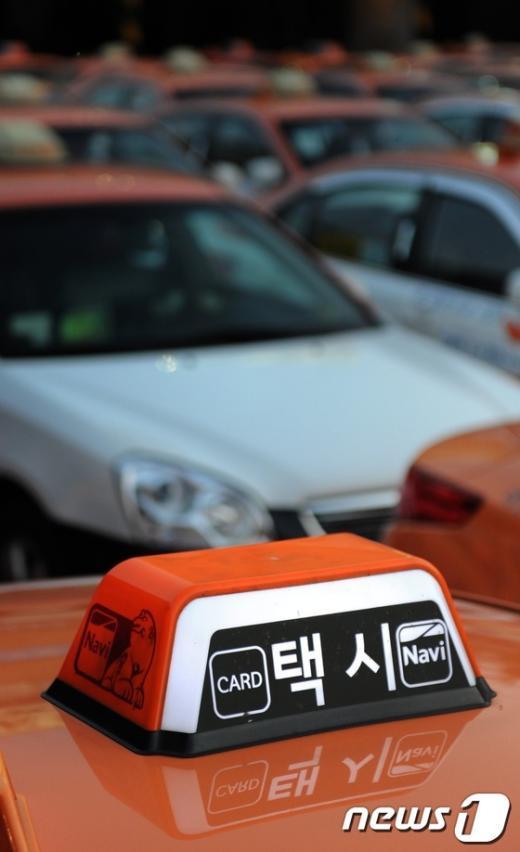 [사진]'택시파업'