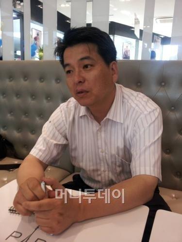 ↑황희철 파리바게뜨 중국법인장