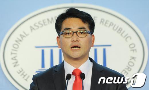 [자료]민주통합당 박용진 대변인  News1 양동욱 기자