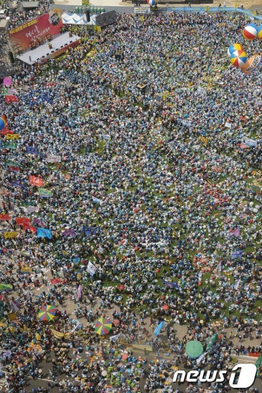 [사진]'택시업계 서울광장 대규모 파업'