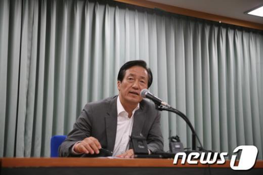 정몽준 새누리당 전 대표  News1 송기평 기자