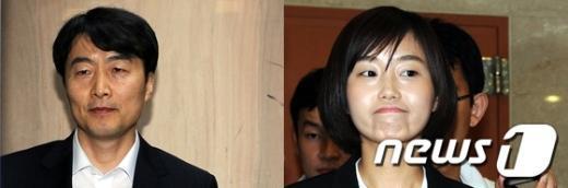 이석기(왼쪽), 김재연(오른쪽) 의원 News1