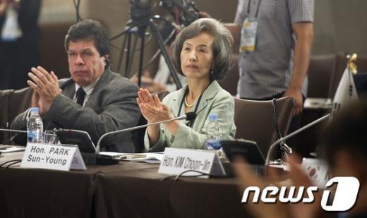 [사진]국제의원연맹 총회 참석한 박선영 전 의원